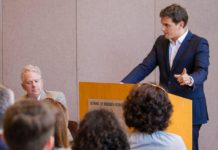 Albert Rivera en la universidad norteamericana de Georgetown